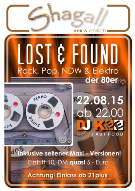 Lost & found - Rock, Pop, NDW & Elektro der 80er