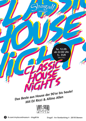 Vinyl Sound Museum - Classic House Nights