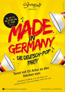 Made in Germany – Die Deutsch-POP-Party