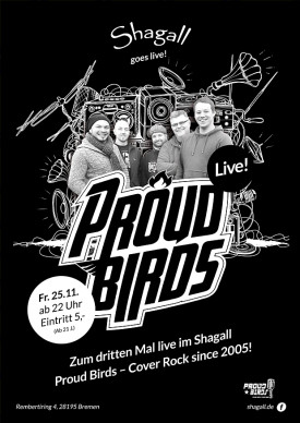 PROUD BIRDS – Cover Rock since 2005! (Live-Band)
