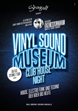 Vinyl Sound Museum - Club House Night