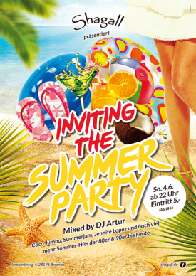 Inviting the Summer Party