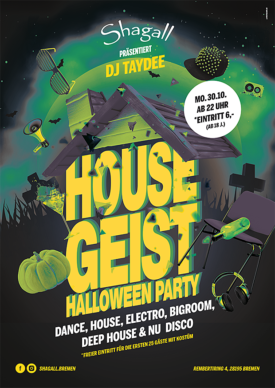 House Geist – Halloween Party