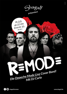 REMODE – Die Depeche Mode Live Coverband