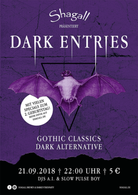 Dark Entries – Two Years Special