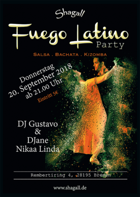 Fuego Latino – Salsa Party