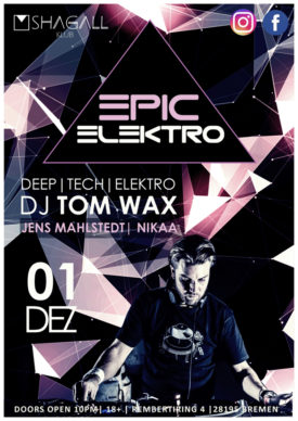 Epic Electro – Tom Wax