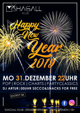 Silvester Party – Happy new Year 2019