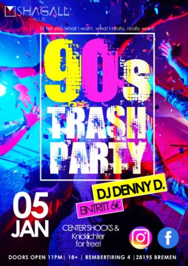 90er Trash Party
