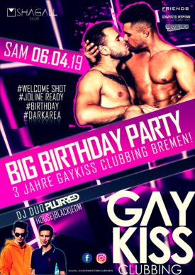 GAYKISS - 3 Jahre Birthday Party