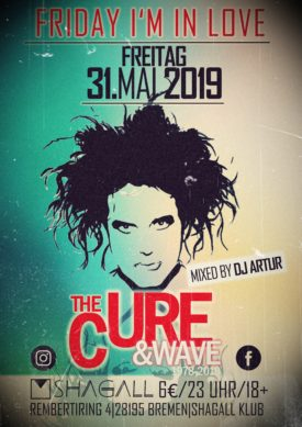 Friday I'm In Love - The Cure & Wave Party