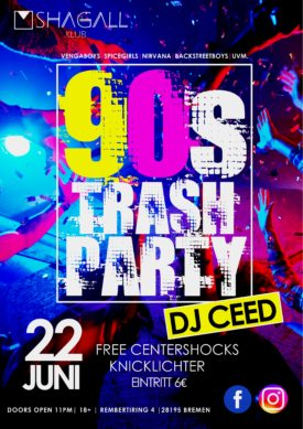 90's -Trash Party