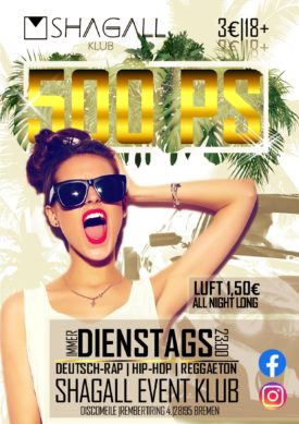 500PS - Dienstags Party