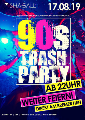 90's Trash Party