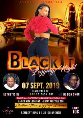 BlackIT - Leggings Night