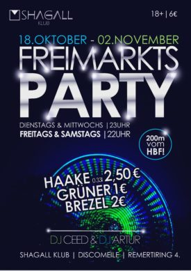 Freimarkts Party!