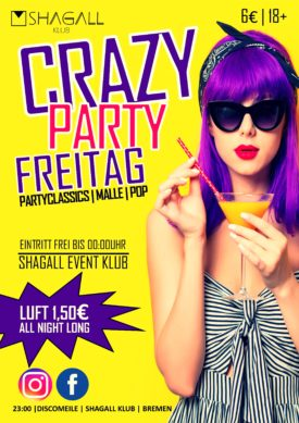 CRAZY PARTY FREITAG