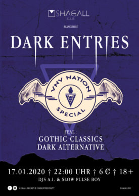 Dark Entries - VNV Nation Special