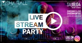 LIVE Stream Party auf INSTAGRAM!